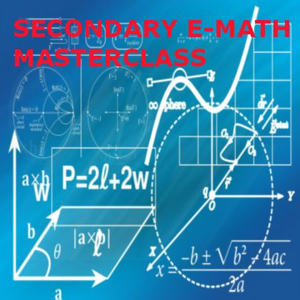 Secondary E Math Masterclass