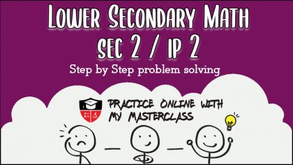 lower secondary math sec 2 IP 2